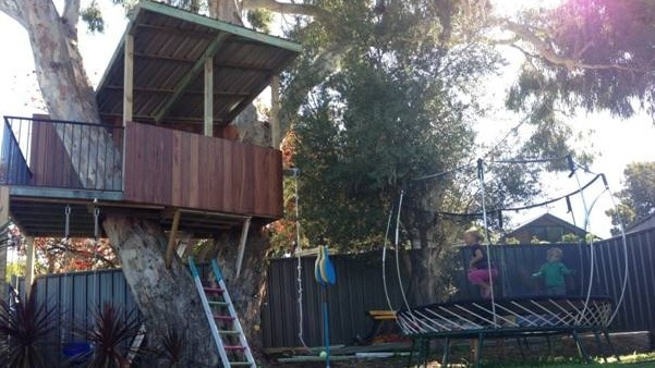 The Montgomerie family's tree house is threatened with demolition after complaints from neighbours.