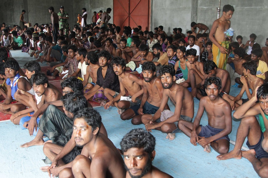 Rohingya migrants rescued in Thailand