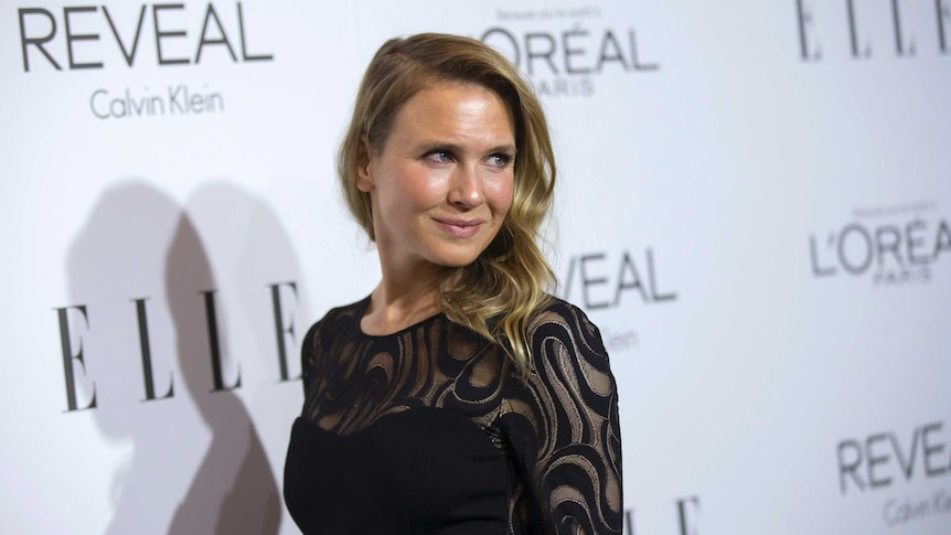 Actress Renee Zellweger poses at the 21st annual ELLE Women in Hollywood Awards in Los Angeles, California on October 20, 2014.