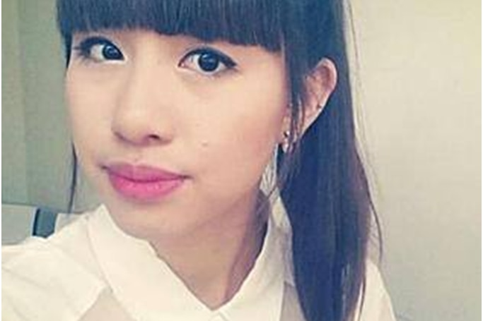 Elly Chen, a worker at the Lindt cafe in Sydney's CBD, who was among a number of people taken hostage in a deadly siege.