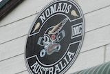 A sign that says 'Nomads MC Australia'