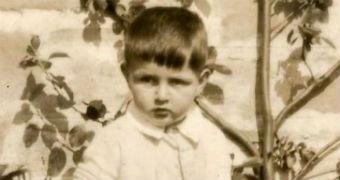 A photo of John as a young boy.
