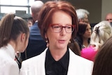 Julia Gilliard at the launch of Mind Matters