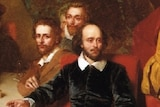 John Faud's 1851 painting depicting Shakespeare and friends at the Mermaid Tavern.