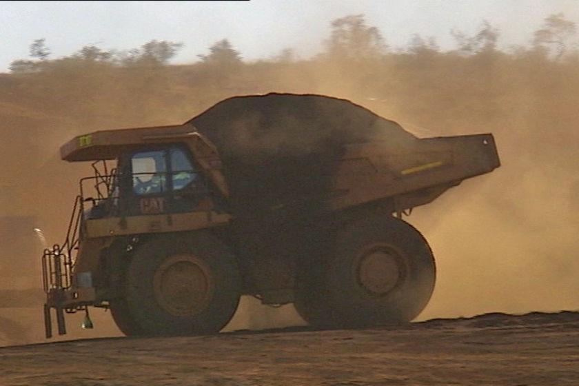 Iron ore truck