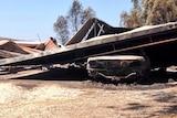 Home burnt at Eden Valley