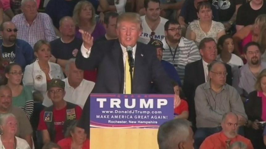 Donald Trump asked about 'Muslim, not American' president