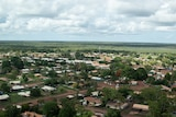 An aerial shot of the township of Wadeye