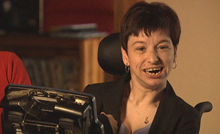 Cerebral Palsy sufferer Caytlin Weir
