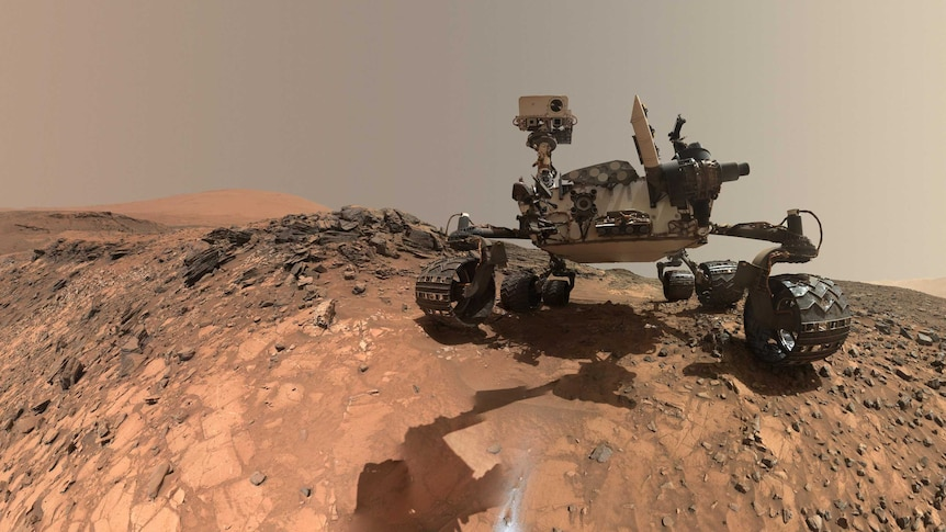 """The Curiosity rover measured """"repeatable, identifiable, seasonable"""" patterns in methane levels. (Pic: NASA)"""