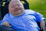 Disability advocate and media personality Quentin Kenihan.