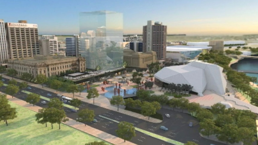 A video of the proposed Festival Plaza upgrade