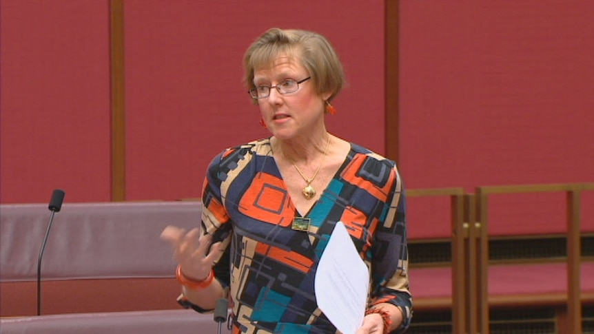 Mary Jo Fisher makes her final speech to the Senate, 14 August 2012