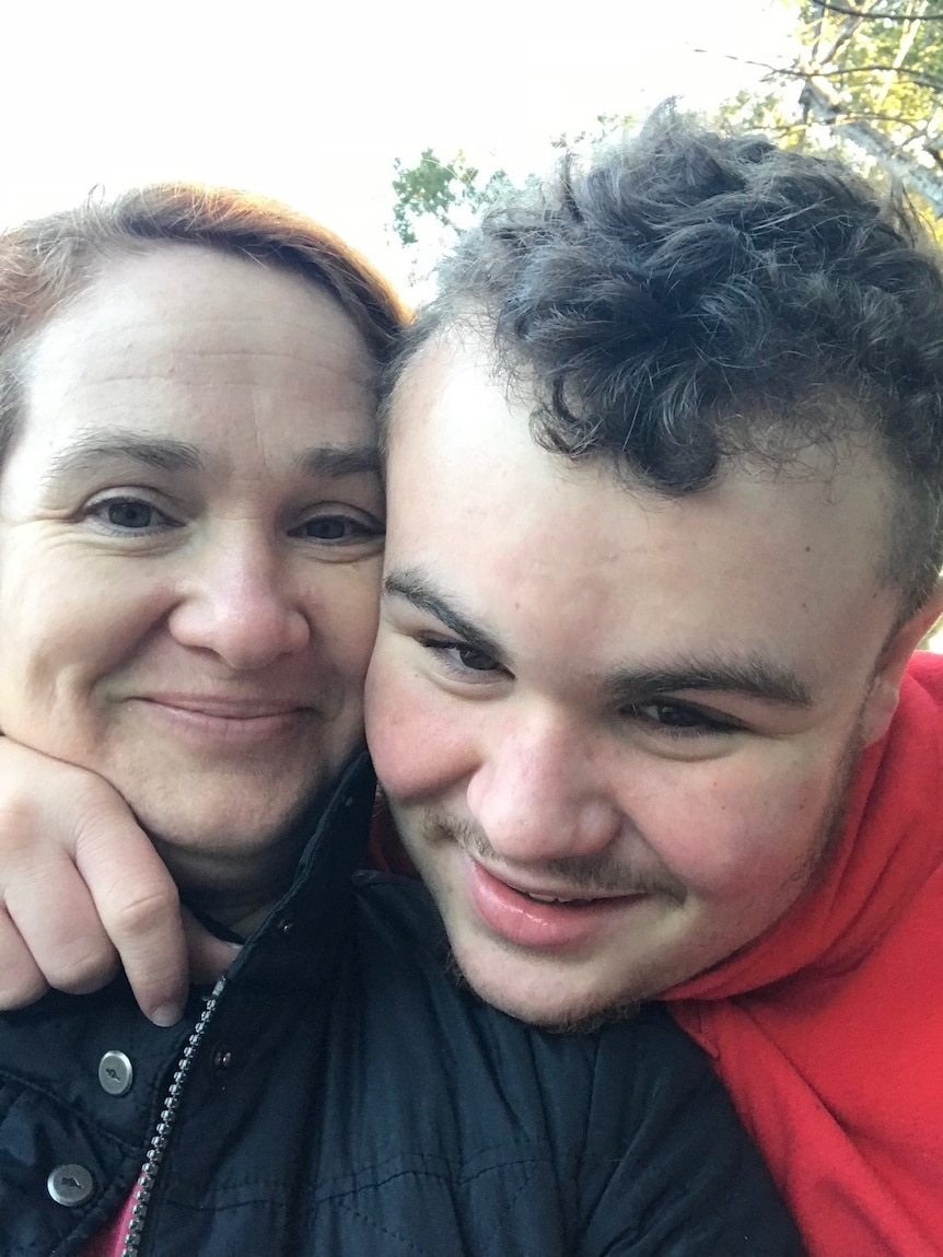 Shannon Des Roches Rosa is mum to Leo, autistic young adult