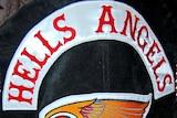A Hells Angels Australia biker jacket