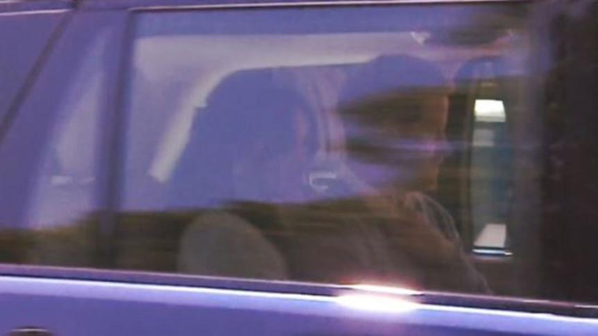 Prince Harry and his fiancée Meghan Markle arrive at Windsor Castle to rehearse for their wedding