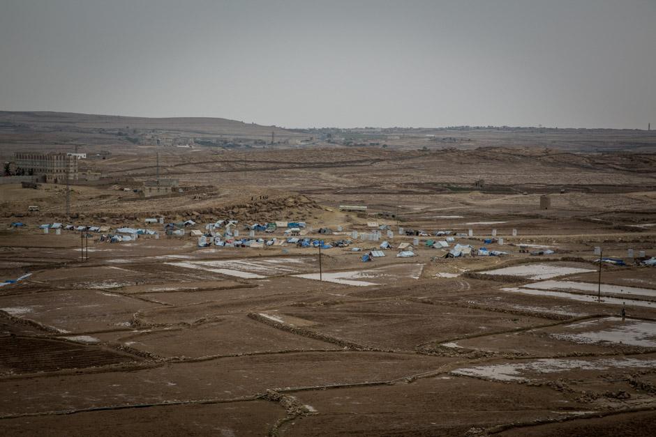 Khamer displacement camp in Amran.