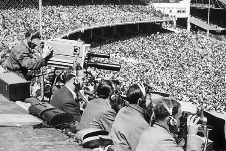 ABC-TV covering the 1956 Olympic Games in Melbourne