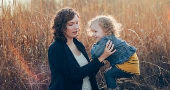 Mum and child generic image.