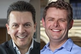 Composite image of Nick Xenophon and Stephen Mullighan.