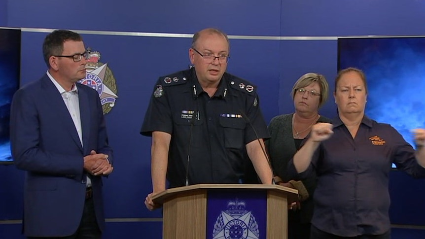 Police say the suspect has died in hospital and they are treating the attack as a terrorism incident.