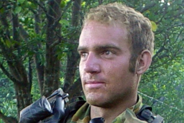 Private Gregory Michael Sher, who was killed in Afghanistan