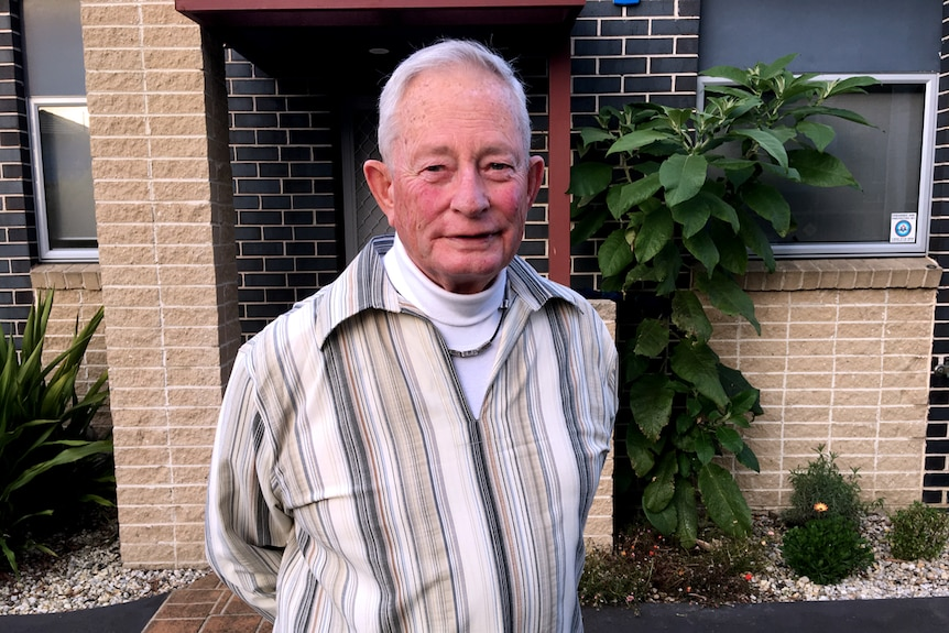 Former Aveo resident Geoff Richards, 80 speaks about his experience with Aveo