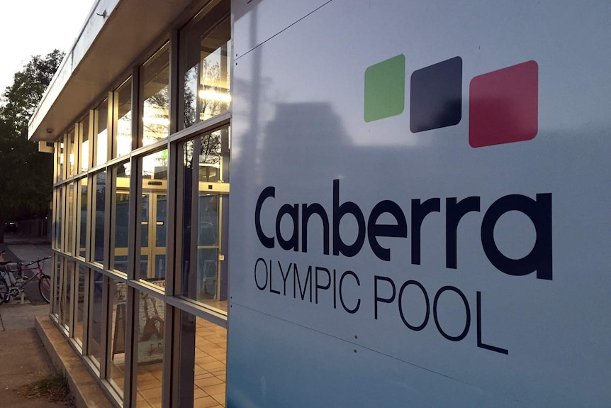 A massive leak has plagued the Canberra Olympic Pool.