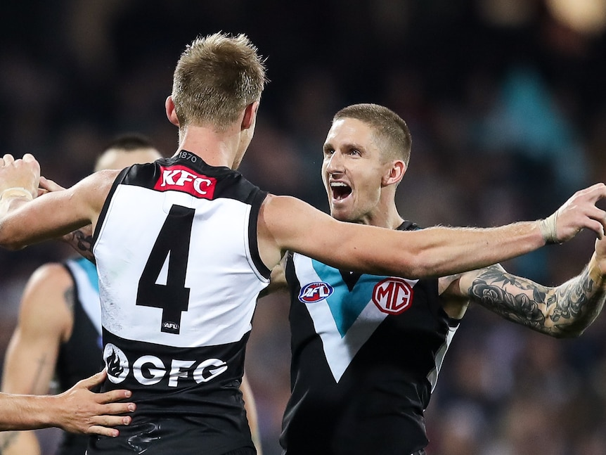 AFL live: Power host Cats at Adelaide Oval