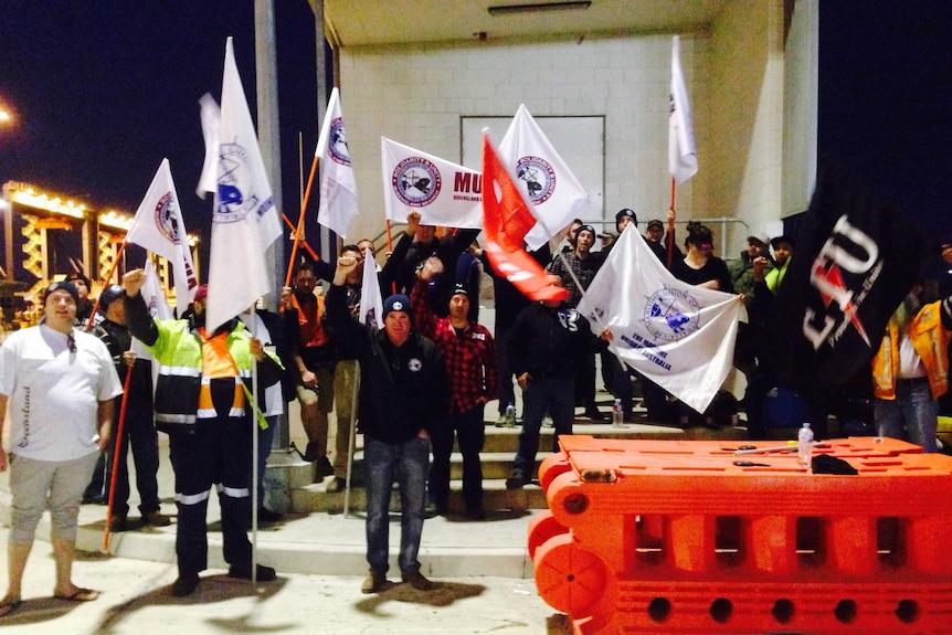 Port of Brisbane strike