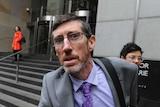 John Ellis leaves the royal commission