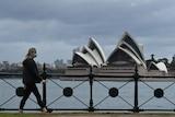 Sydney lock down Opera House