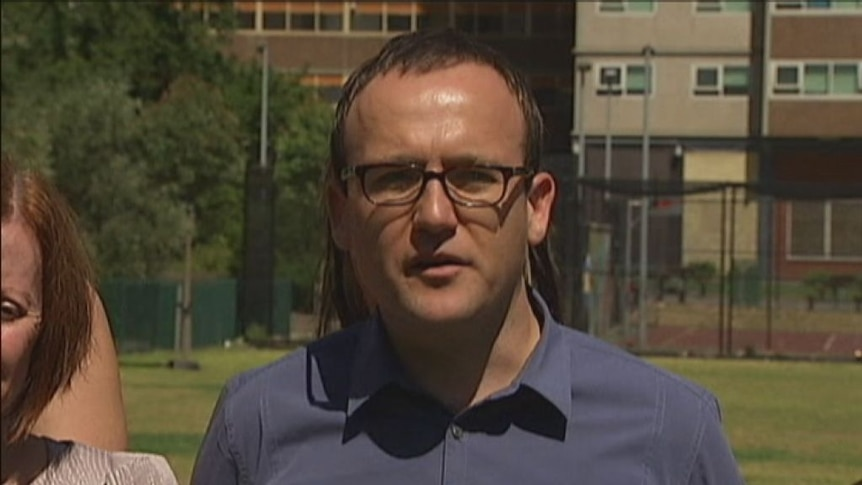 Acting Greens leader Adam Bandt speaks to ABC News 24