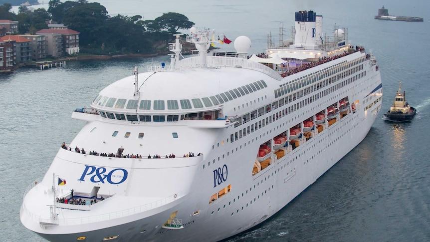 The Pacific Dawn cruise ship