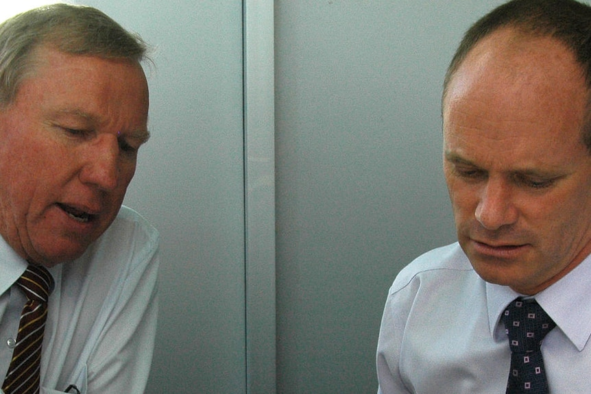 Jeff Seeney and Campbell Newman