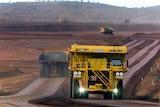 Autonomous Haulage Trucks at West Angelas mine site