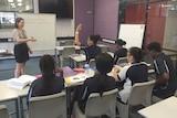 'Teach for Australia' recruits attend a class in Perth