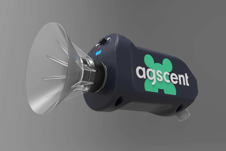 prototype of agscent device