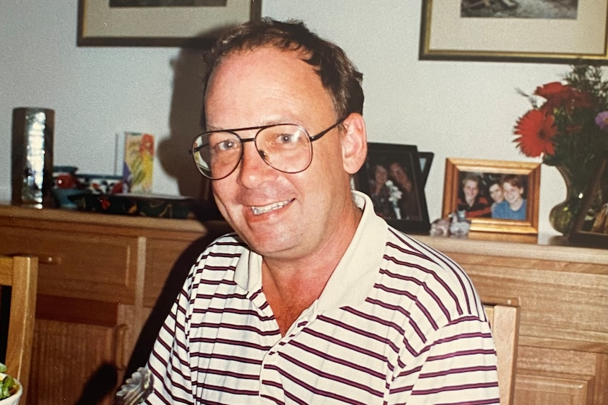 A picture of a smiling David Knyvett, contributed by his family.