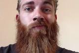 Happier, harrier days: Simon the beard donator.