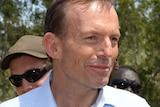Tony Abbott at the Garma Festival in Gove