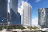 Chevron's proposed Elizabeth Quay development