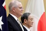 莫里森总理会见菅义伟首相