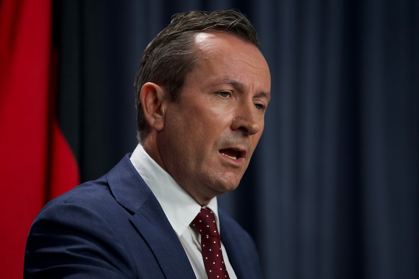 Headshot of WA Premier Mark McGowan