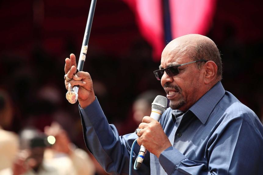 Sudan's Omar al-Bashir is a wanted man