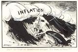 Gough Whitlam inflation wave cartoon