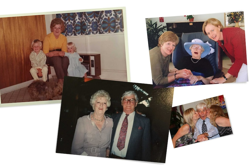 A montage of photos of Fellex and Patricia throughout their life. Sally, her brother and mother also feature.