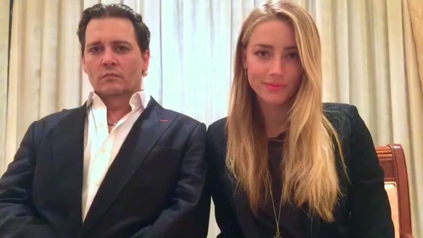 Depp and Heard post apology video over Pistol and Boo incident