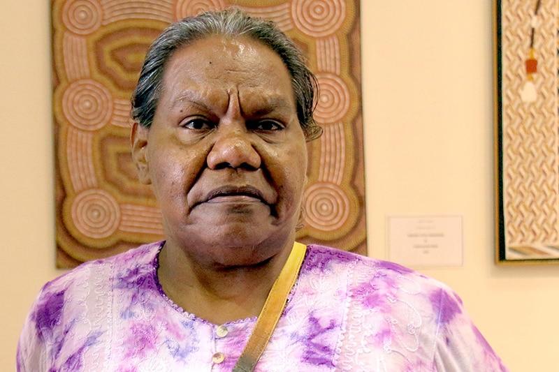 Groote Eylandt Aboriginal Trust official Rosalie Lalara