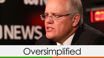 scott morrison verdict oversimplified orange and green